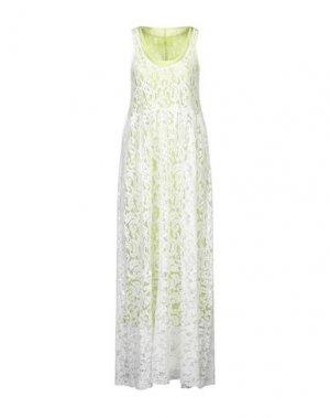 Длинное платье BRAND UNIQUE. Цвет: белый