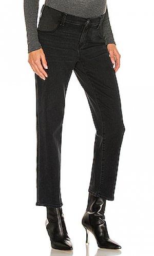 Прямые джинсы для беременных noella PAIGE. Цвет: черный