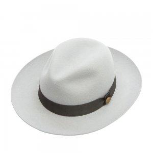 Шляпа федора CHRISTYS. Цвет: белый