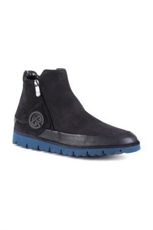 Ботинки GF Butteri. Цвет: синий