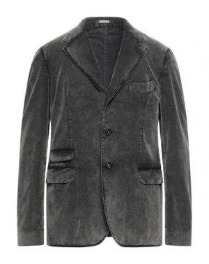 Пиджак MASSIMO ALBA. Цвет: свинцово-серый