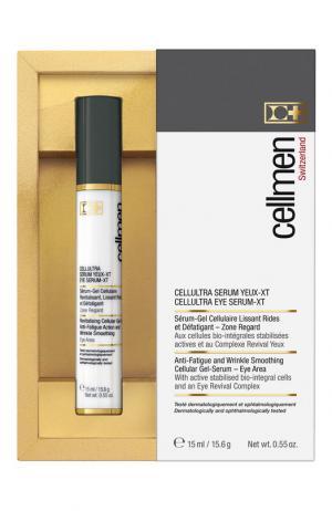 Клеточная сыворотка-гель для кожи вокруг глаз Cellcosmet&Cellmen. Цвет: бесцветный