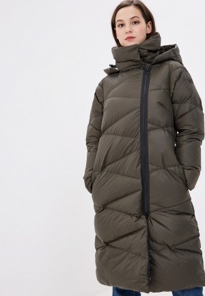 Пуховик Helly Hansen W TUNDRA DOWN COAT. Цвет: хаки