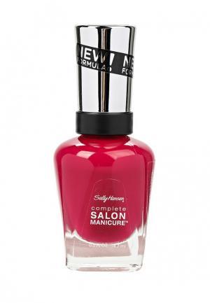 Лак для ногтей Sally Hansen Salon Manicure Keratin тон berry important #543 14,7 мл. Цвет: розовый