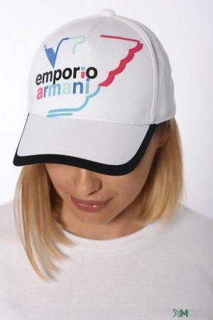 Бейсболка Emporio Armani. Цвет: белый