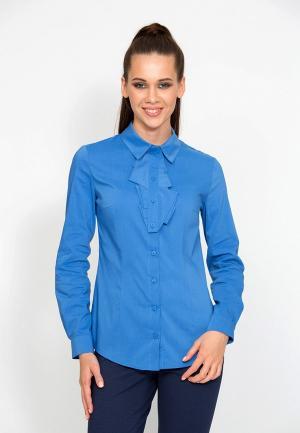 Рубашка D.VA MP002XW1GLOH. Цвет: голубой