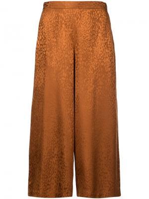 Укороченные брюки со звериным принтом A.L.C.
