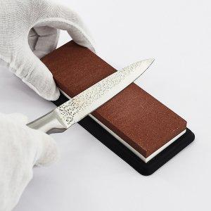 1шт Точилка для ножей кухонный SHEIN. Цвет: коричневые