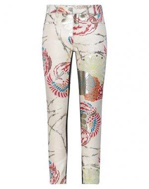 Повседневные брюки HAIDER ACKERMANN. Цвет: слоновая кость