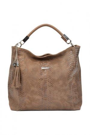 Bag CARLA FERRERI. Цвет: beige