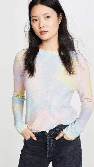 Cashmere Splotch Print Sweater Autumn
