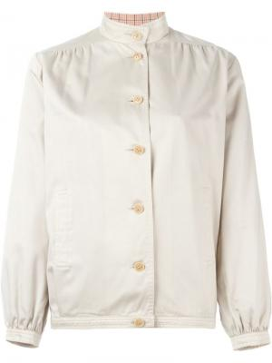 Куртка с воротником-мандарин Céline Pre-Owned. Цвет: нейтральные цвета