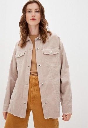 Рубашка Befree Exclusive online. Цвет: серый