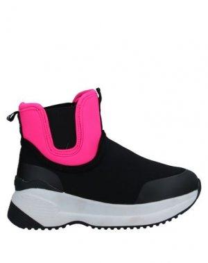 Высокие кеды и кроссовки REPLAY & SONS. Цвет: черный