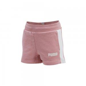 Детские шорты Contrast Shorts TR G PUMA. Цвет: розовый