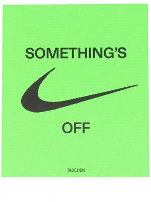 Книга ICONS Somethings Off из коллаборации с Nike Off-White. Цвет: зеленый
