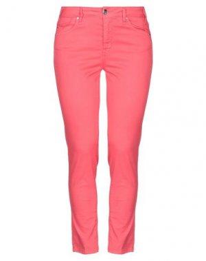 Повседневные брюки TRAMAROSSA. Цвет: коралловый