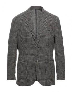 Пиджак MONTEDORO. Цвет: темно-коричневый