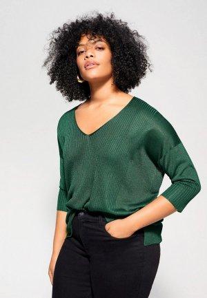 Пуловер Violeta by Mango - SUGAR. Цвет: зеленый
