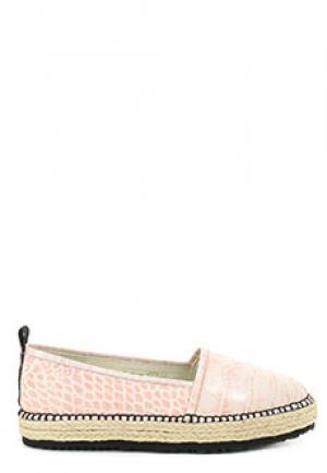 Эспадрильи MSGM. Цвет: розовый