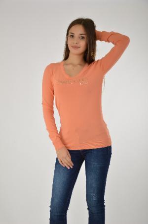 Джемпер GUESS. Цвет: оранжевый