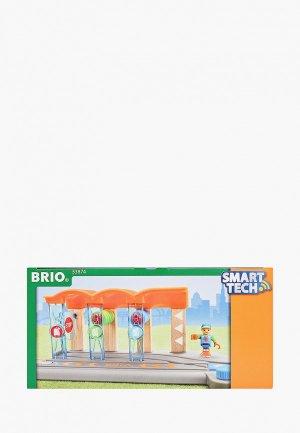 Конструктор Brio Smart Tech, Ж/д мойка, 2 части. Цвет: разноцветный