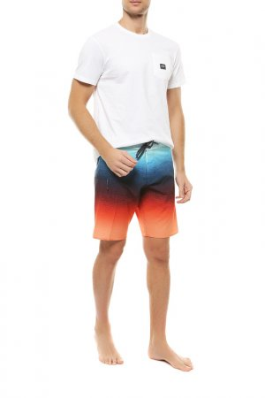 Шорты плавательные Billabong. Цвет: оранжевый