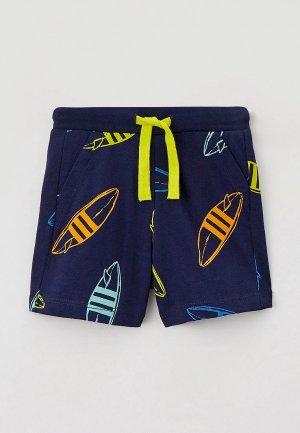 Шорты спортивные United Colors of Benetton. Цвет: синий