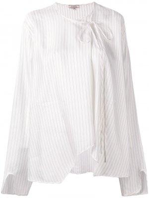 Блузка со смещенной завязкой Nina Ricci