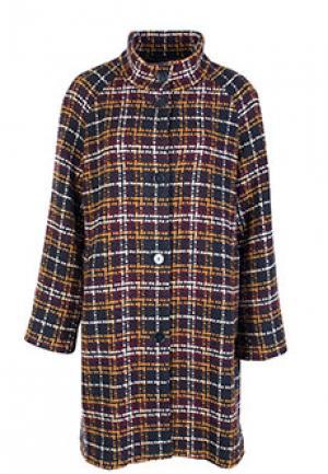 Пальто PERSONA BY MARINA RINALDI. Цвет: разноцветный