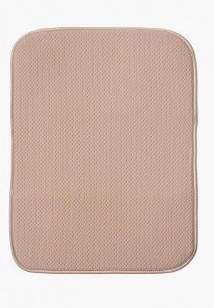 Салфетка сервировочная DeNastia Коврик для сушки посуды DeНАСТИЯ, 38*51 см. Цвет: бежевый