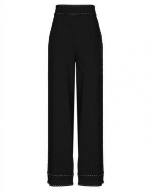 Повседневные брюки ALLURE. Цвет: черный