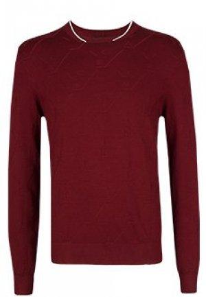 Пуловер EMPORIO ARMANI. Цвет: розовый