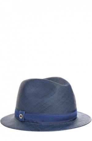 Шляпа Mia Loro Piana. Цвет: синий