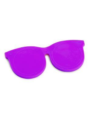 Зеркальце Shades фиолетовое Balvi. Цвет: фиолетовый