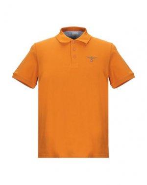 Поло AERONAUTICA MILITARE. Цвет: оранжевый