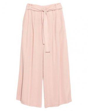 Повседневные брюки B.YU. Цвет: светло-розовый