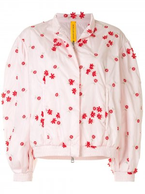 Куртка 4 Simone Rocha Persea Moncler. Цвет: розовый