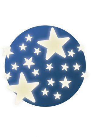Наклейки на стену Звездочки Djeco. Цвет: синий
