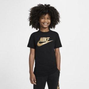 Хлопковая футболка для школьников Sportswear Nike