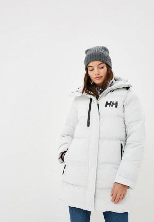 Куртка утепленная Helly Hansen W ADORE PUFFY PARKA. Цвет: серый