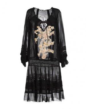 Короткое платье GADO by MARGRIET WAGERAAR. Цвет: черный
