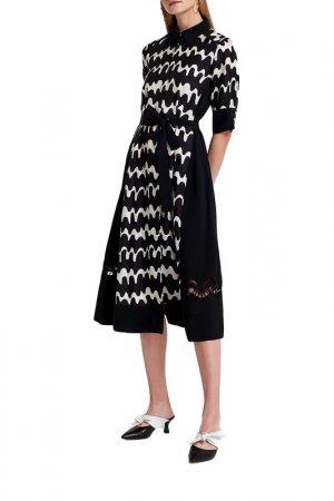 Платье Beatrice. B. Цвет: черный, белый
