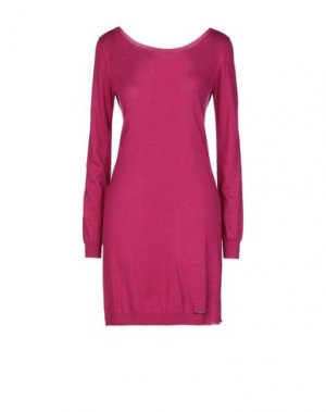 Короткое платье G.SEL. Цвет: пурпурный