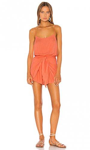 Ромпер louise TAVIK Swimwear. Цвет: оранжевый