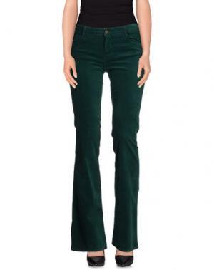 Повседневные брюки ACQUAVERDE. Цвет: темно-зеленый