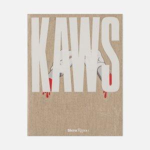 Книга Kaws Rizzoli. Цвет: бежевый