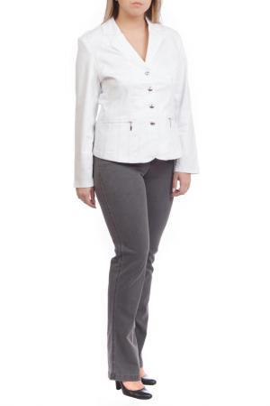 Пиджак LAFEI-NIER. Цвет: белый