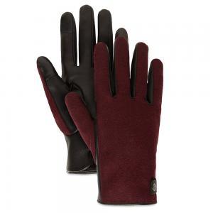 Мелкая и кожаная галантерея Woll Back Snap Glove Timberland. Цвет: красный