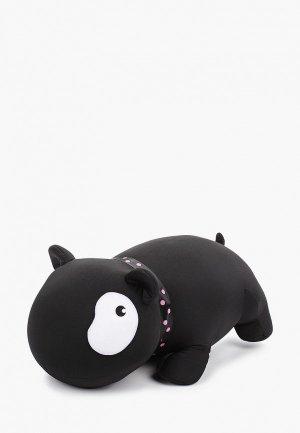 Подушка декоративная Gekoko Черный Бим Белый Глаз. Цвет: черный